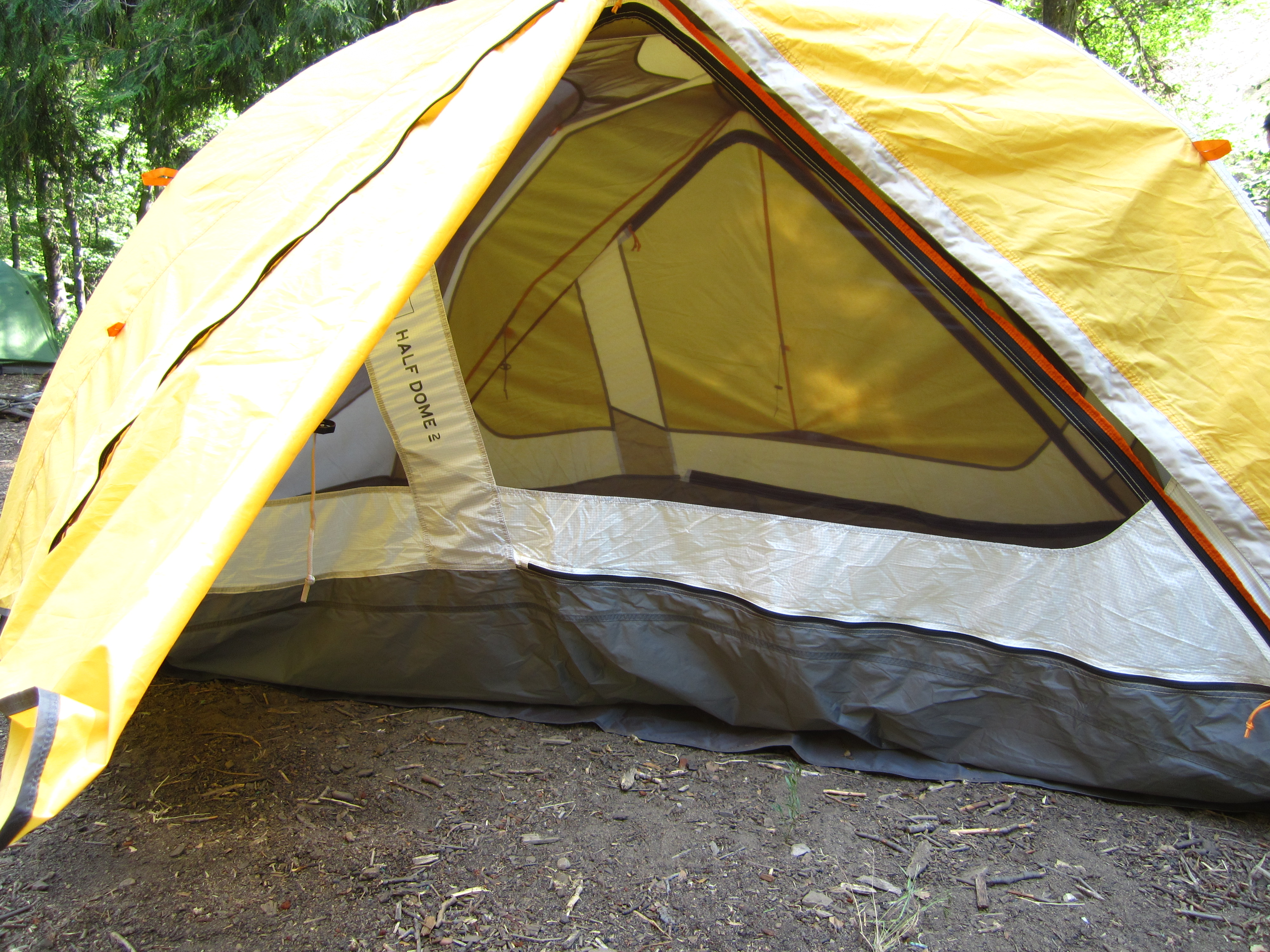 Door of Tent REI ... & REI Half Dome 2 Plus Tent Review | Teen Hiker