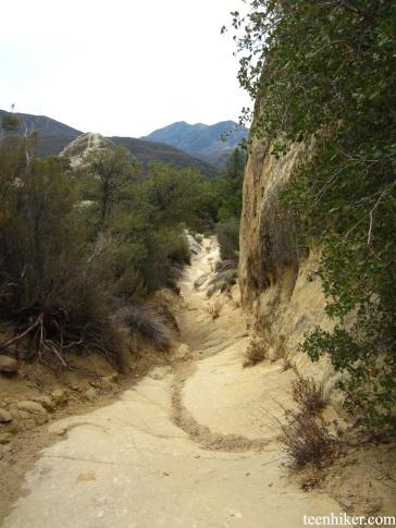 Descending from Bluffs