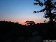Sunset at Pine Mountain Lodge