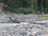 White River bridge crossing