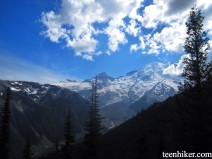 Clouds over Mt. Rainier
