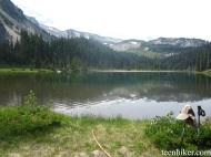 Mystic Lake was pretty calm