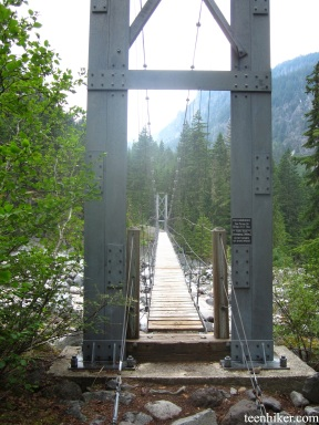 Carbon River Bridge Crossing